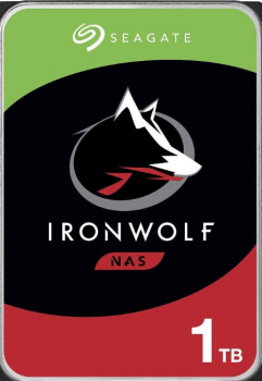 SEAGATE NAS HDD 1TB IronWolf 5900rpm 6Gb/s SATA 64MB