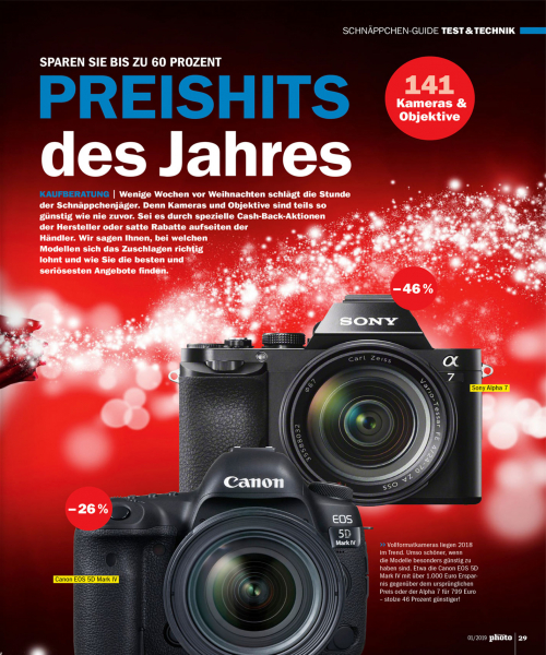 DigitalPHOTO  Ausgabe 1/2019 - Download -