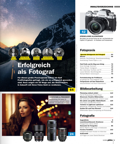DigitalPHOTO  Ausgabe 12/2018 - Download